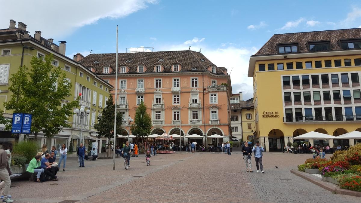 A day in Bolzano (Bozen),Italy