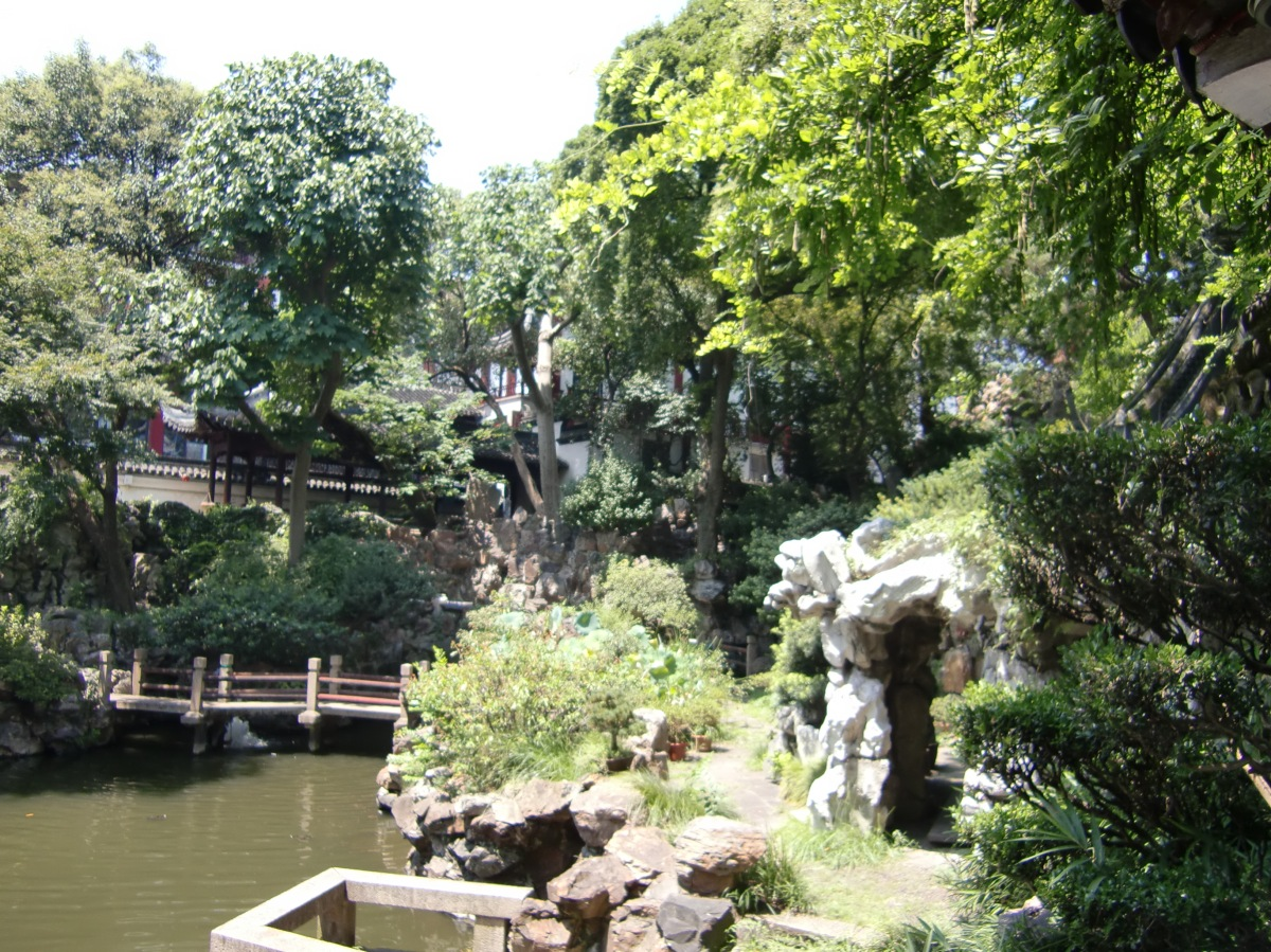 Shanghai – downtown and Yuyuan Garden