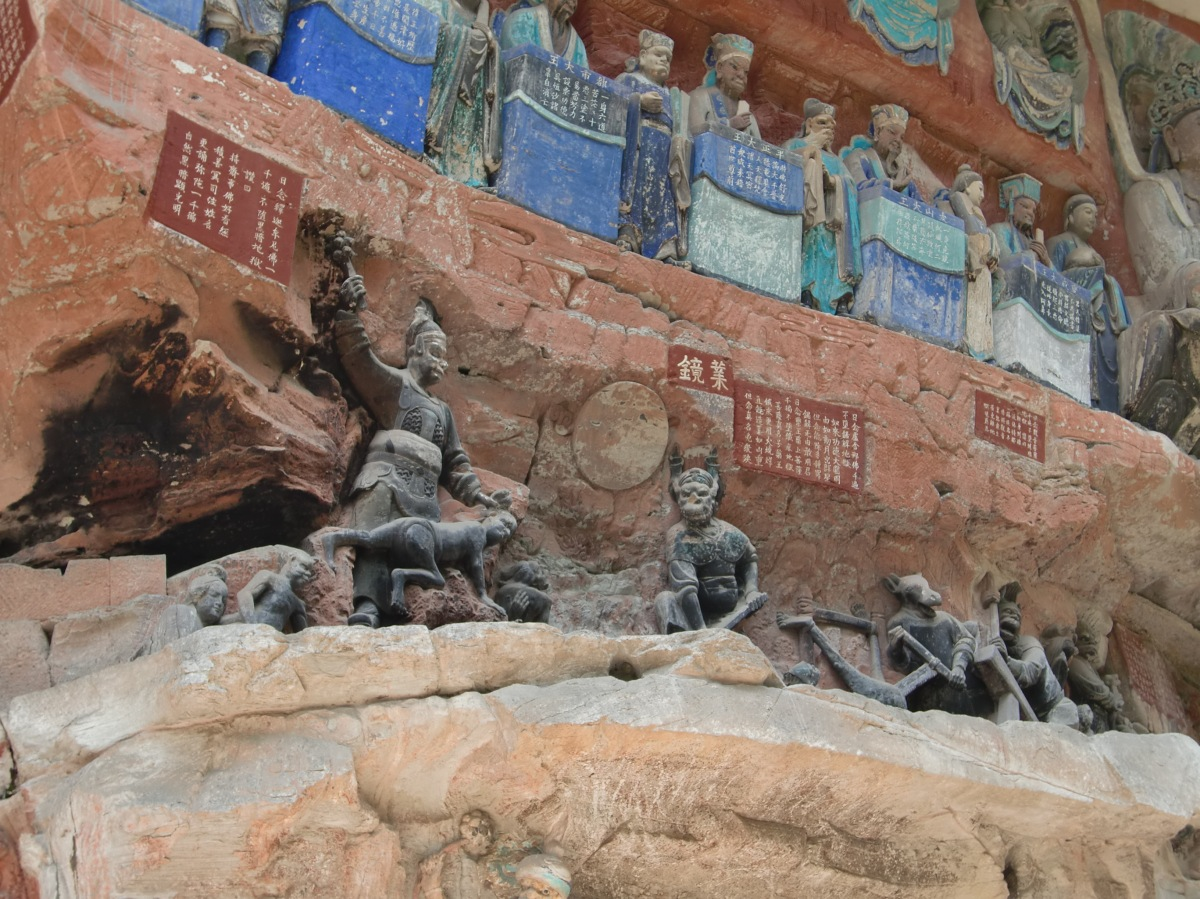 China – The Dazu Rock Carvings of Mount Beishan