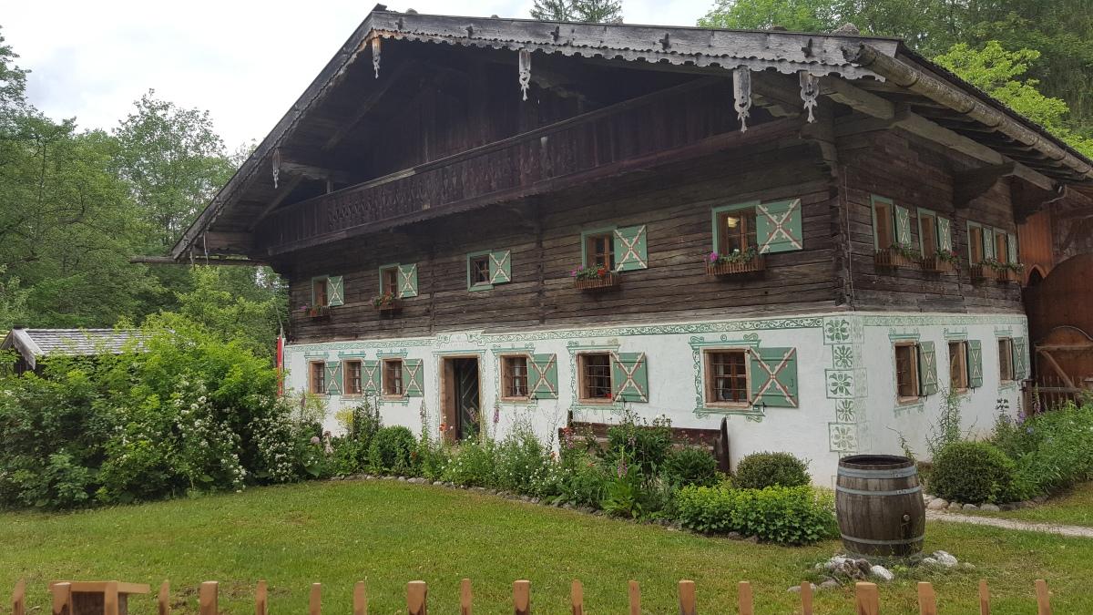 Open-air farm museum in Großgmain,Salzburg