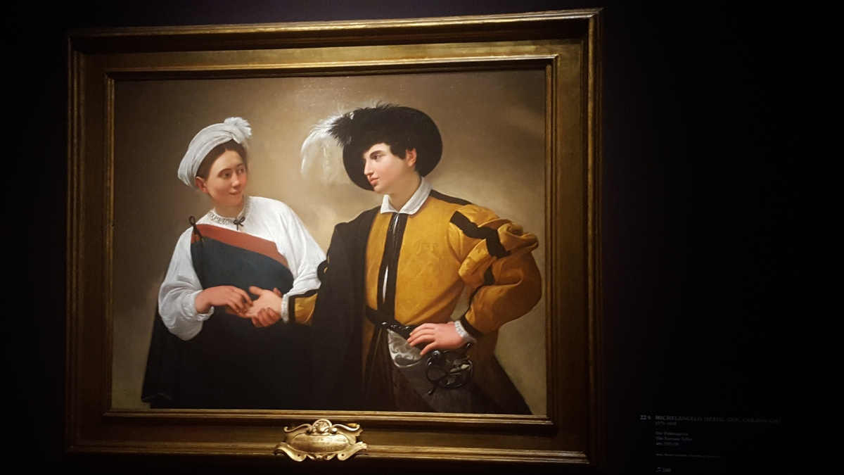 Special exhibit : Utrecht, Caravaggio andEurope