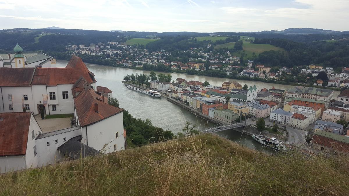 Danube : 1st stopPassau